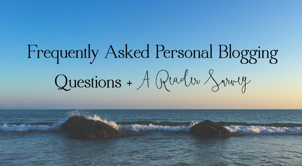 Frequently Asked Blogging Question