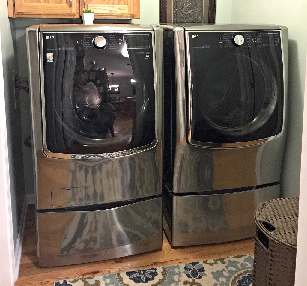 LG TWIN Washer & SIdeKick