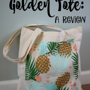 Golden Tote Review After Receiving My First Box