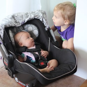 A Day in the Life – July 9th, 2016 (Hadley: 2.5 years, Sadie: 2.5 months)