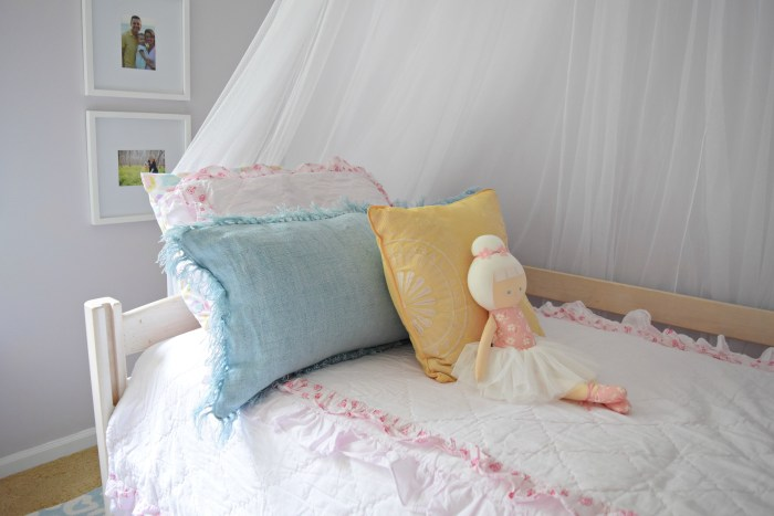 From Junk Room To Beautiful Bedroom The Big Reveal: Bedroom For A 3 Year Old Girl: Hadley's Completed Big Girl