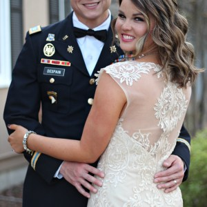 Attending Jamie's Battalion's Military Ball