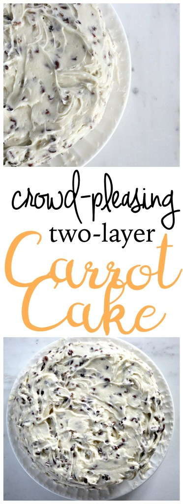 After making this carrot cake one time, you'll never bake a different carrot cake again. This cake is rich, creamy, and perfect for all kinds of occasions and seasons (not just birthdays). The prep is easy with simple ingredients likely already in your house. Enjoy immensely!