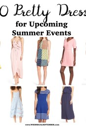 10 Pretty Dresses for Summer Events
