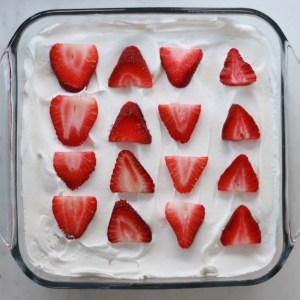 Strawberry Shortcake Recipe with Angel Food Cake