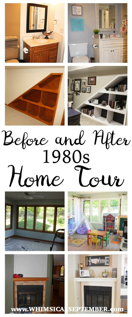 Before and After 1980s Home Tour