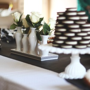 Little Man Baby Shower: A Black and White Brunch