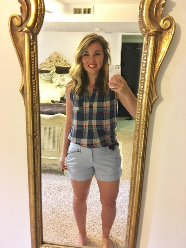 Stitch Fix: Dear John Finnegan Cuffed Shorts