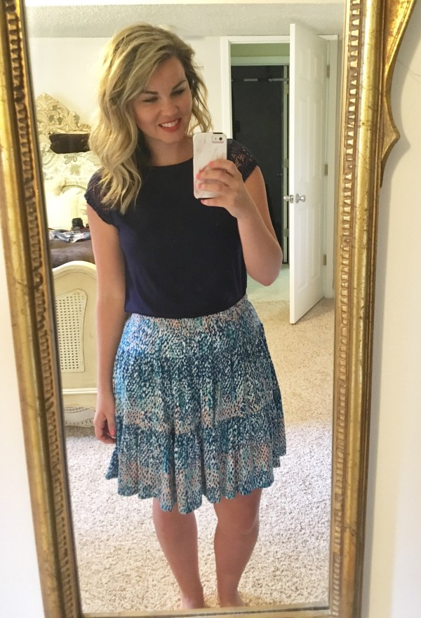 Stitch Fix: Colette Gabriela Flare Skirt