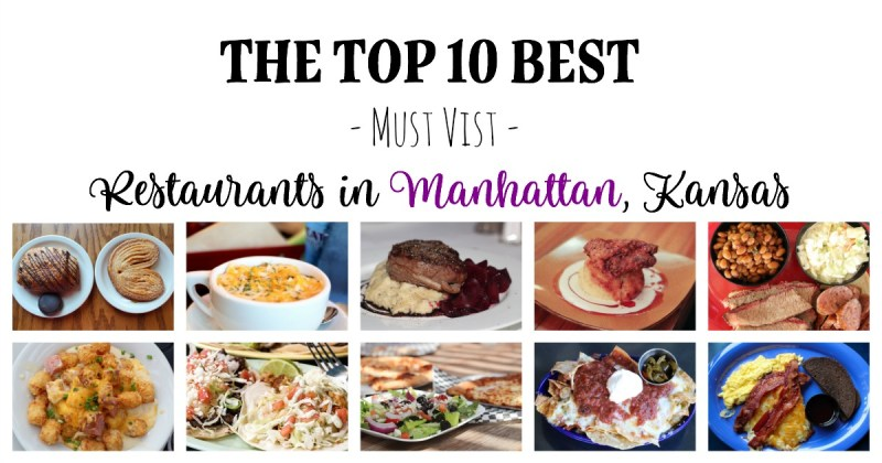 Top 10 Restaurants in Manhattan, Kansas