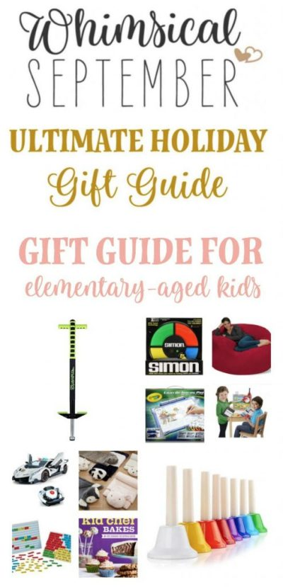 Typically elementary-aged kiddos have zero problems coming up with a lengthy list of things they'd like for the holidays, but in case you're looking to surprise a kid in your life with someone a little bit unique that wasn't on their list, I've got you covered. Whether you're shopping for a boy or a girl, there's something on this list for everyone. From physical activity to baking, lounging, playing, laughing, and being creative, you'll love this list of unique finds that will surely bring a big 'ole smile to the recipient's face... and yours too. :)