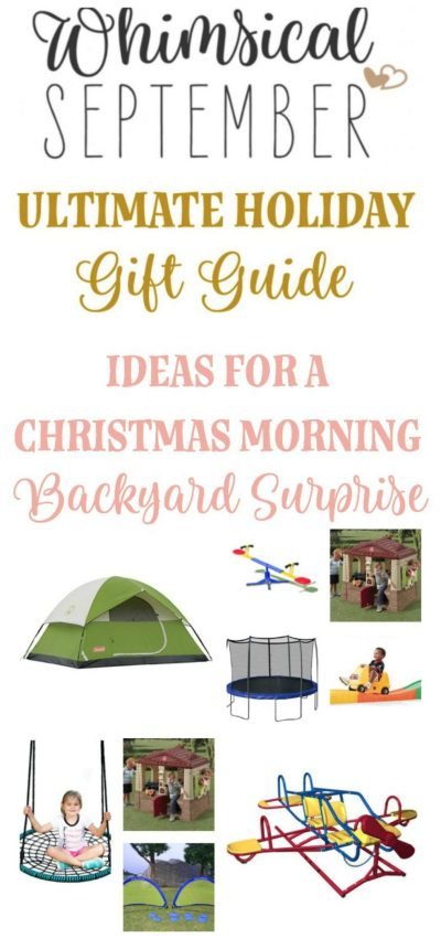 Gift Ideas: Backyard Toys and Fun