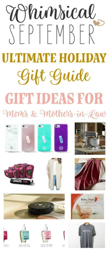 Gift Ideas for moms and mothers-in-law: Christmas and holiday gift ideas for the woman who has everything! She will love the thought her daughter or daughter-in-law put into her gift this year. These creative, meaningful gifts range from cheap to expensive (if you'd like to split the gift with a sibling!) and are sure to put a smile on her face this year. She's so special, so spoil her this year.