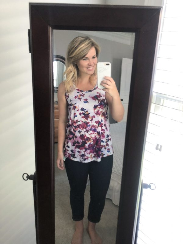 STITCH FIX REVIEW: LOVEAPPELLAEarnest Knit Swing Tank | WHIMSICAL SEPTEMBER | Schedule a fix and request this top here!