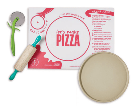 Pampered Chef Kids Pizza Kit