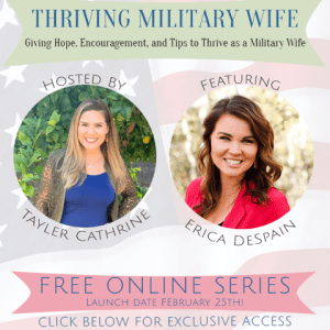 My Feature in the Thriving Military Wife Series (+ How to Sign Up to Watch!)