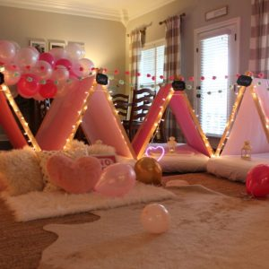 "Throwing a ""Half"" Sleepover Birthday Party with Southern Sleepovers"
