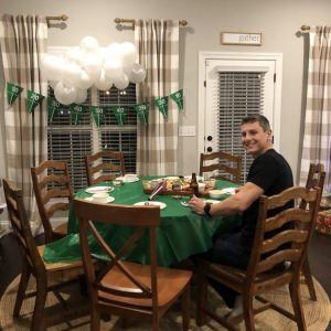 Celebrating Jamie's 32nd Birthday