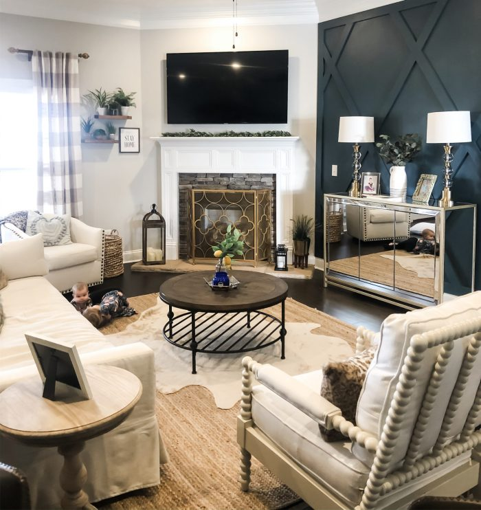 The Design Process & Reveal of Our Living Room Overhaul: Pottery Barn York, Pottery Barn Harlow, Pottery Barn Loralei