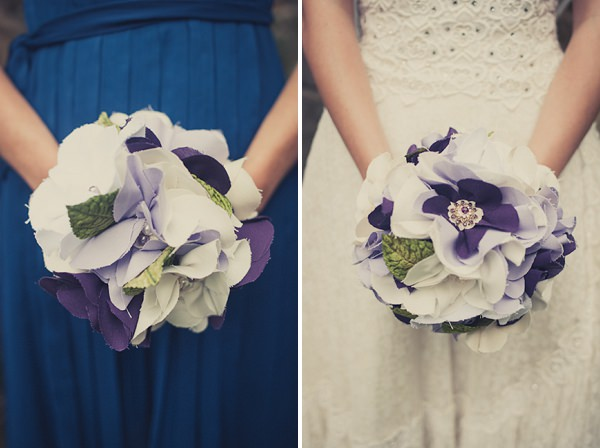 fabric bouquets