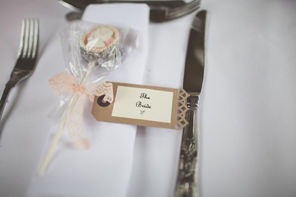 lolly pop wedding favour