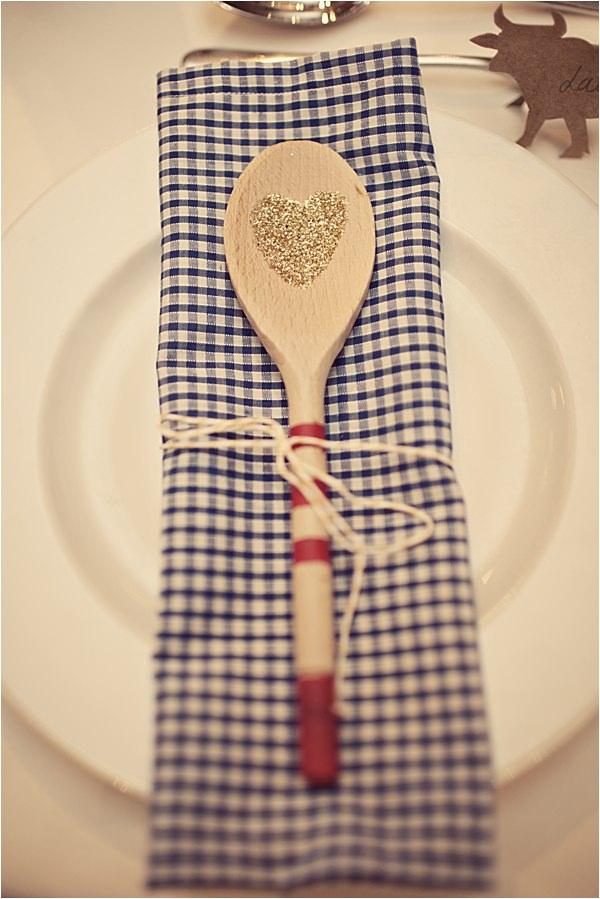 spoon wedding favours diy