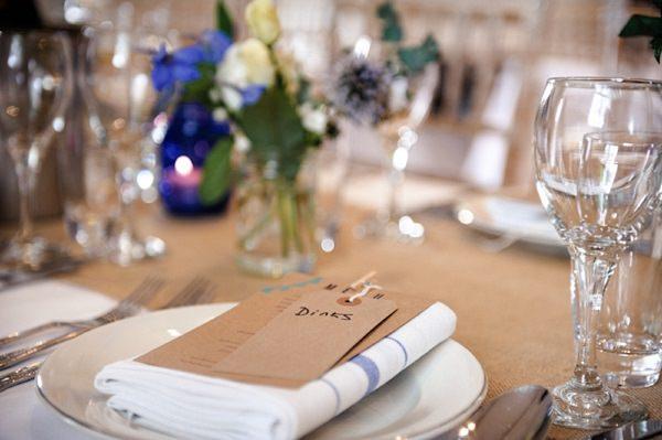 tea towel wedding favour