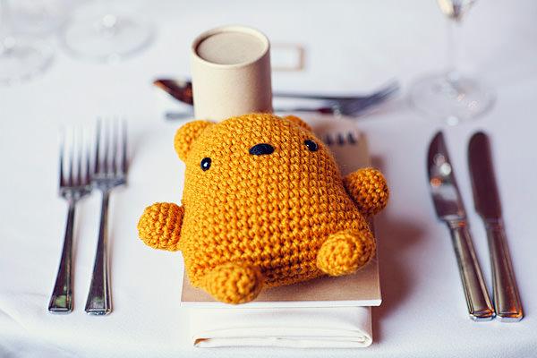 teddy wedding favour