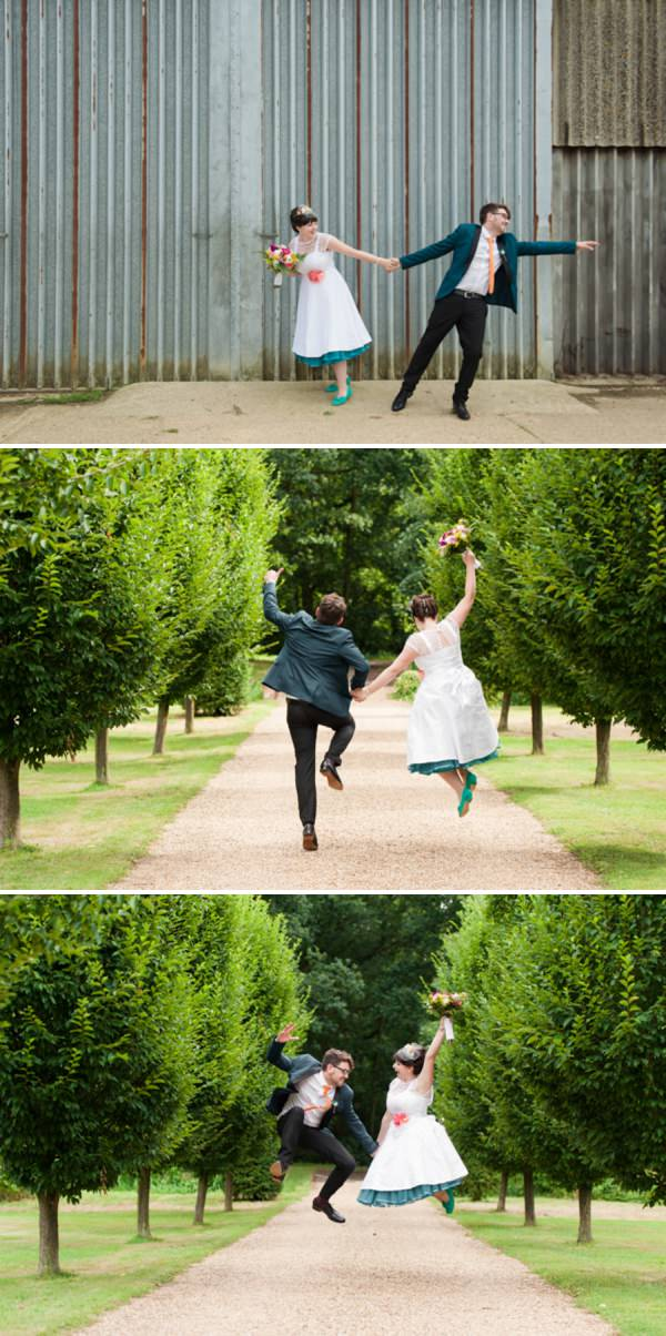 multicoloured wedding http://www.georgimabee.com/