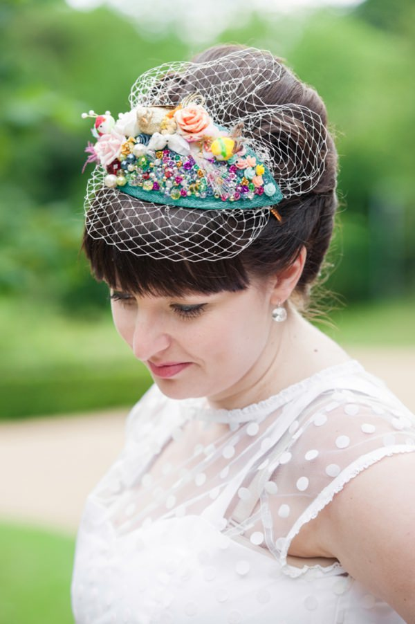 quirky wedding bride accessory http://www.georgimabee.com/
