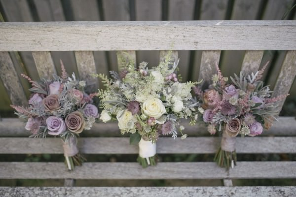 bouquets Chic Dusky Pink Wedding http://emmalawsonphotography.com/