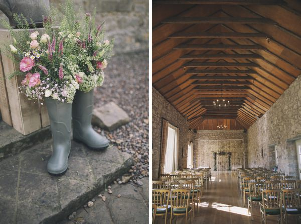 welly flowers Chic Dusky Pink Wedding http://emmalawsonphotography.com/
