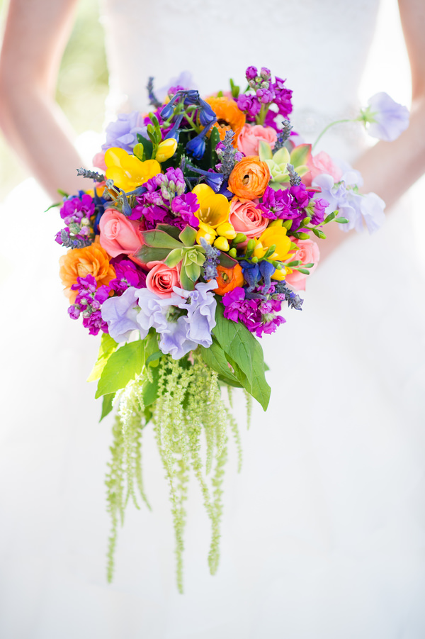 Colourful Amp Chic Outdoor Spring Texas Wedding Whimsical