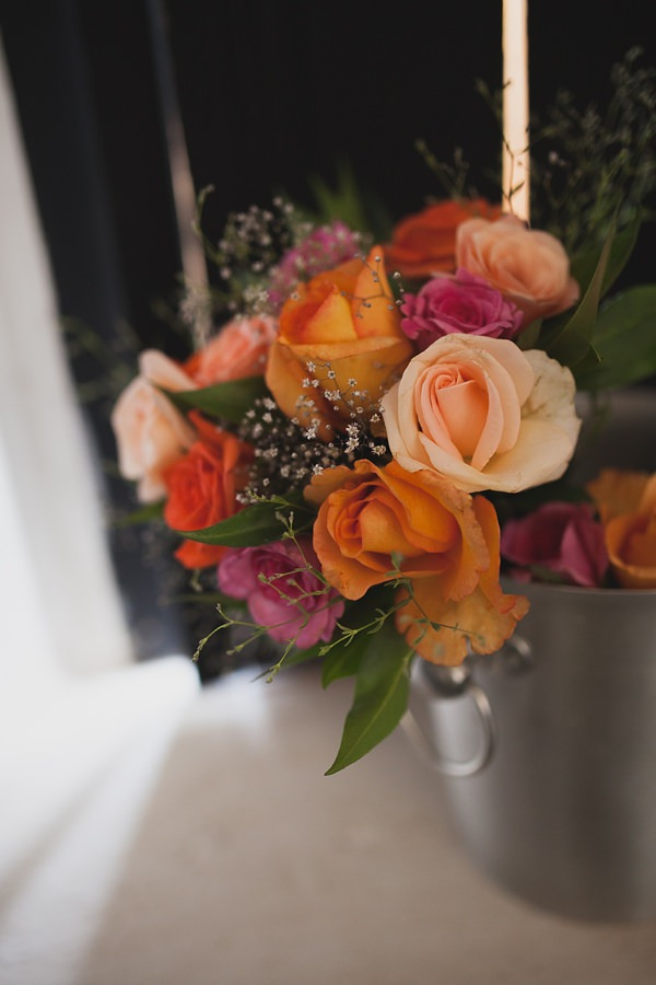 Chilled Colourful Marrakech Wedding Rose Bouquet Bridal  http://www.sallytphotography.com/