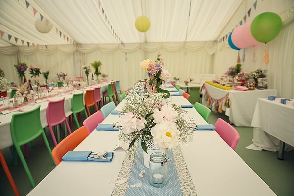 Fun Kid Friendly Colourful Party Wedding Marquee http://assassynation.co.uk/