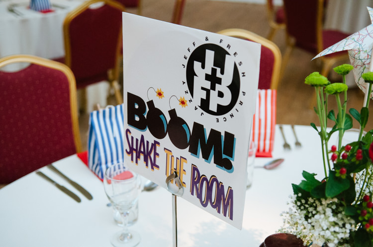 Table Names Graphic Eclectic Vintage Music Party Wedding http://www.theretreat.co/