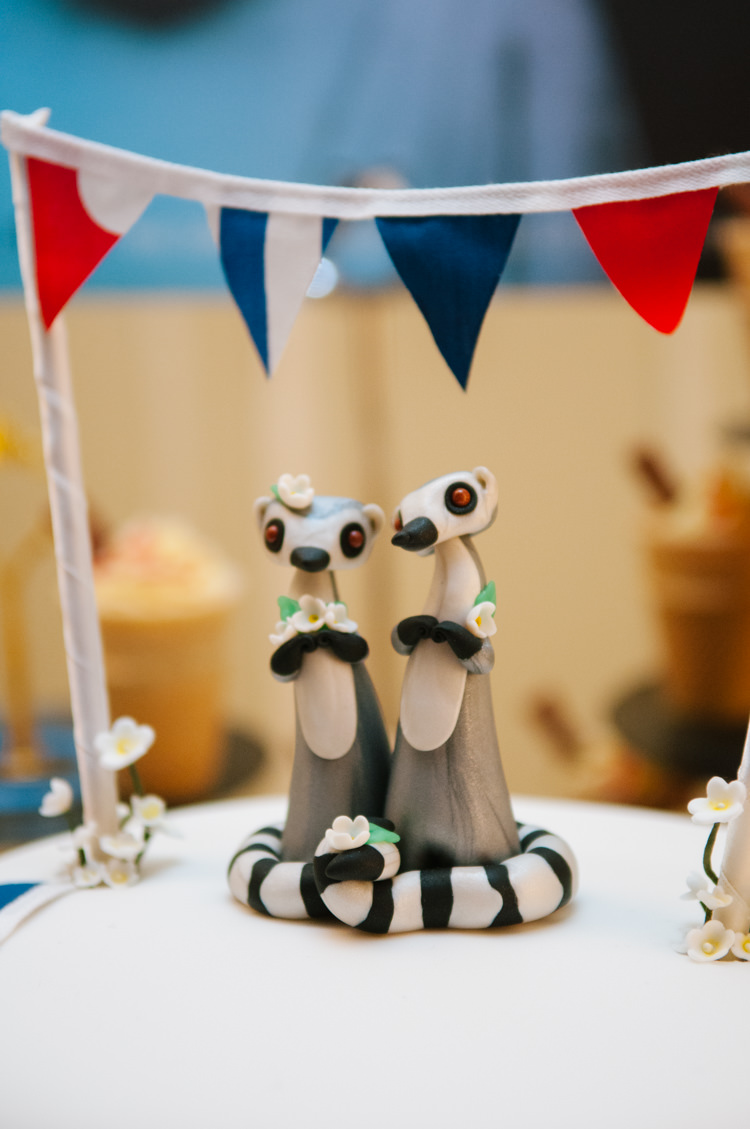 Cake Topper Animal Eclectic Vintage Music Party Wedding http://www.theretreat.co/