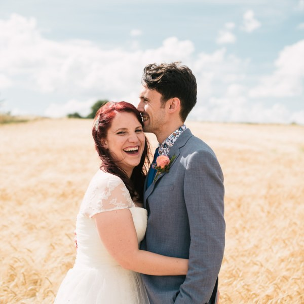 Laid Back Pastel & Lace Rustic Country Barn Wedding