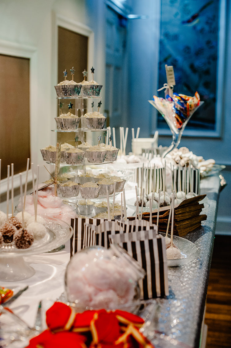 Cake Dessert Table Glamorous Gatsby 1920s Speakeasy Winter Wedding http://www.jmcsweeneyphotography.co.uk/