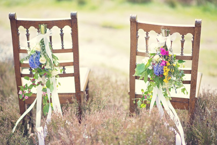 Chairs Beautiful British Flower Peak District Moors Wedding Ideas http://www.sarahbrabbin.co.uk/