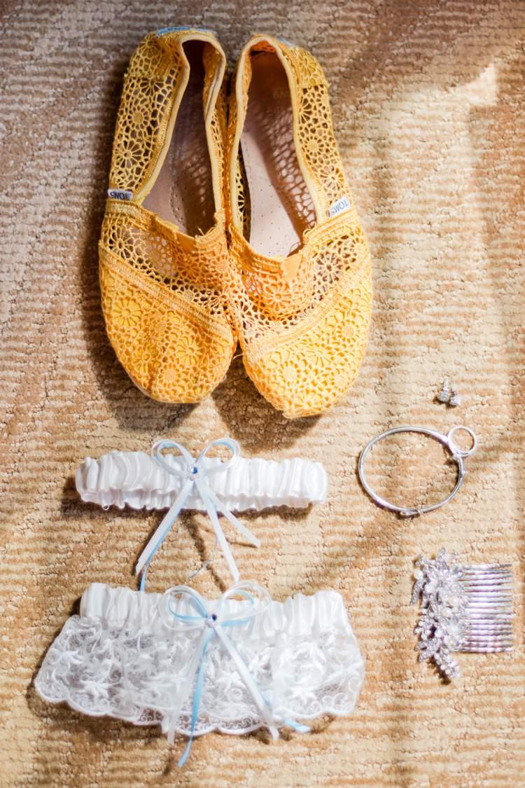 Yellow Toms Bride Bridal Shoes Accessories Romantic Pink Grey Outdoor Wedding Ontario http://www.nicoleamanda.ca/