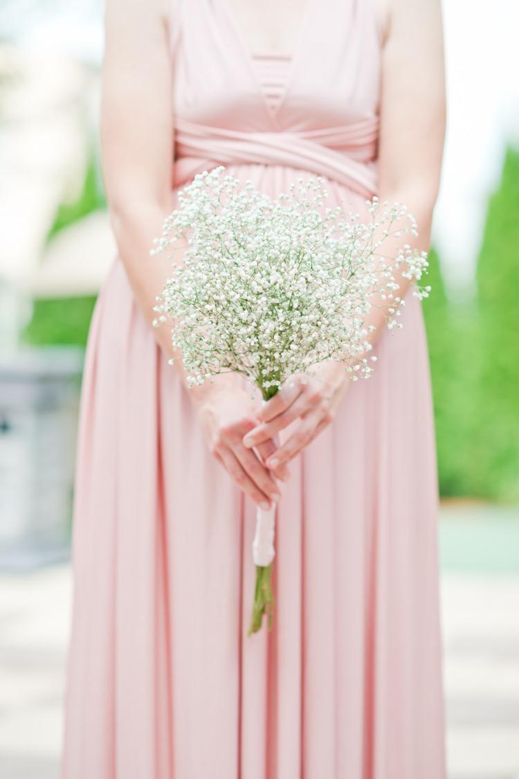 Gypsophila Baby Breath Gyp Bouquet Flowers Bridesmaid Romantic Pink Grey Outdoor Wedding Ontario http://www.nicoleamanda.ca/