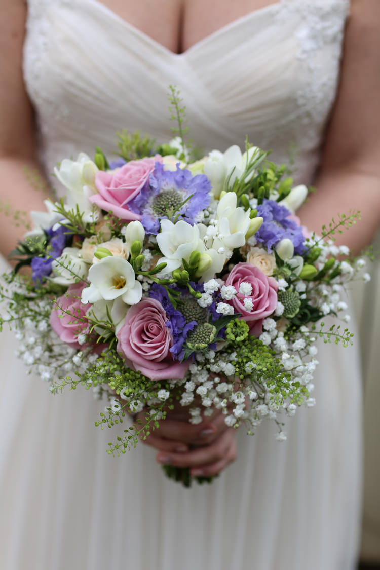 Pink Purple Bouquet Flowers Bride Bridal Travel Garden Party Farm Marquee Wedding http://sharoncooper.co.uk/