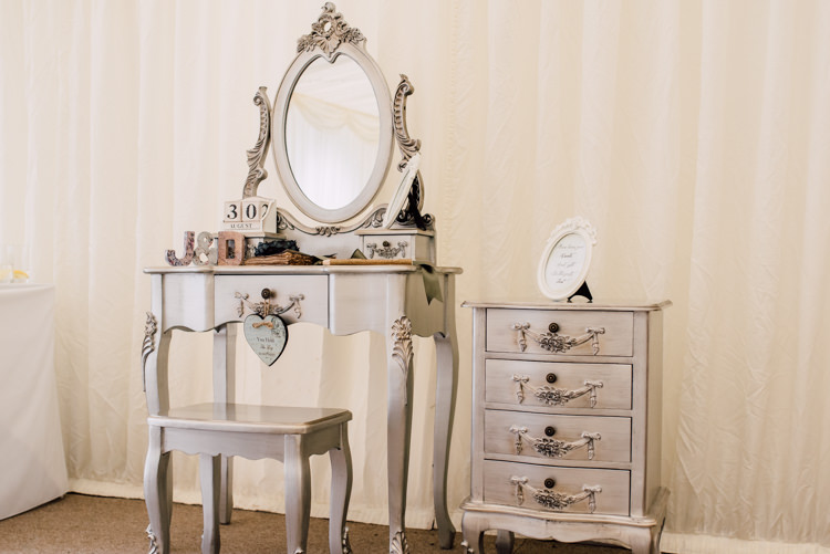 Dressing Table Decor Fairytale Whimsical Burgundy Gold Wedding http://www.victoriatyrrellphotography.com/