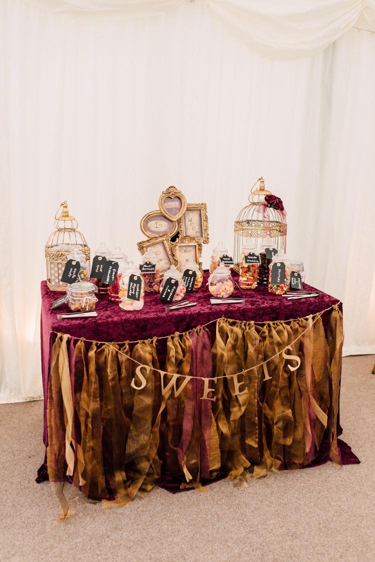 Fairytale Whimsical Burgundy  Gold Wedding  Whimsical Wonderland Weddings
