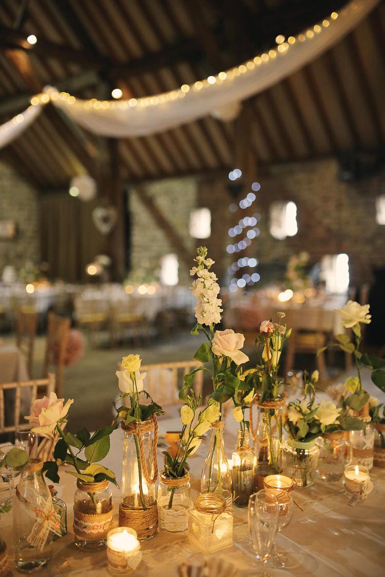 Stylish Pastel Amp Rustic Barn Wedding Whimsical