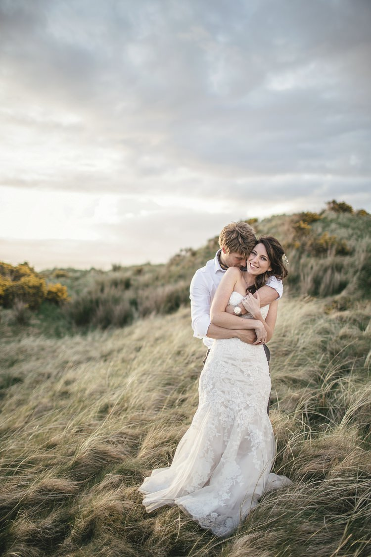 Rustic & Relaxed Scottish Beach Wedding