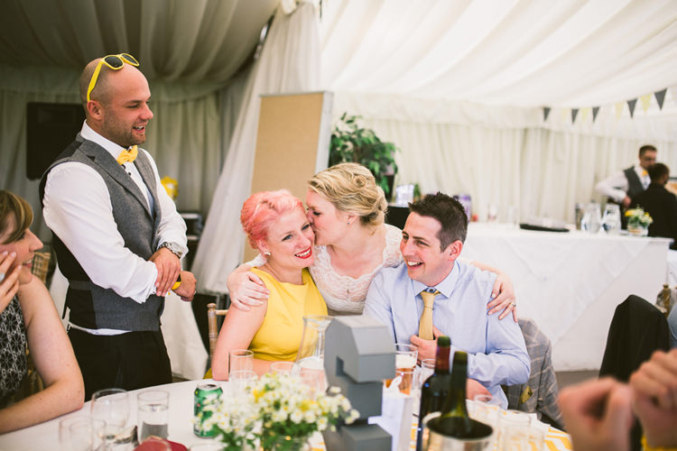 Quirky Modern Yellow Grey City Wedding http://jenmarino.com/
