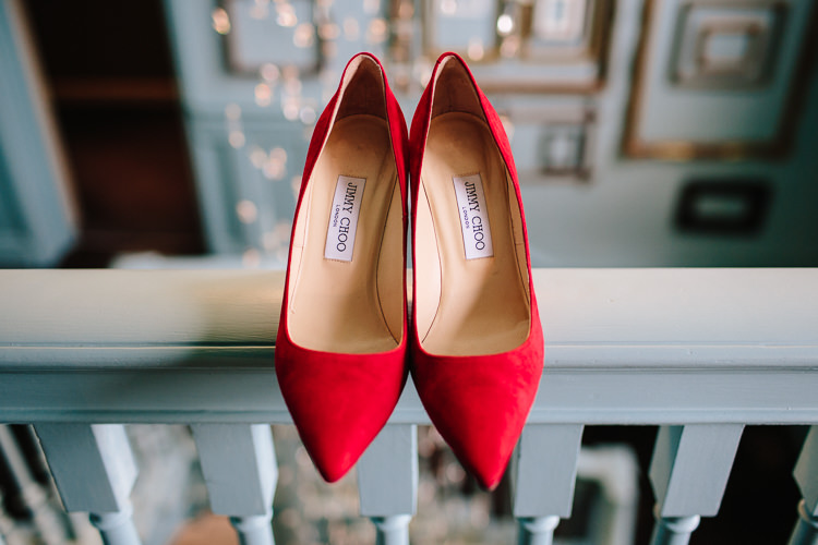 Red Jimmy Choo Shoes Heels Bride Bridal Chic Hollywood Glamour Wedding http://www.kategrayphotography.com/