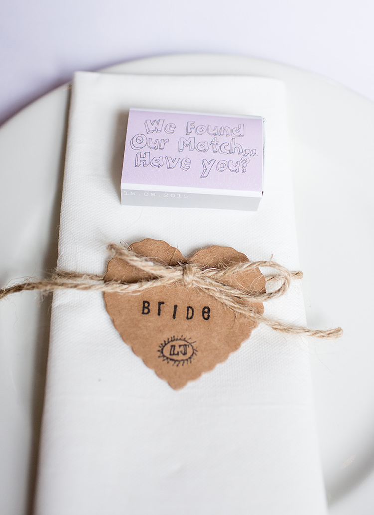 Matches Favours Pretty Natural Floral Barn Wedding http://www.johastingsphotography.co.uk/